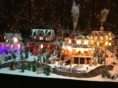Amazing Gingerbread Display Created by RLPS Architects for 2017