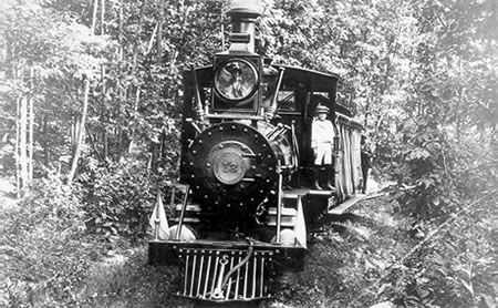 Mt. Gretna Narrow Gauge Railroad Last Run