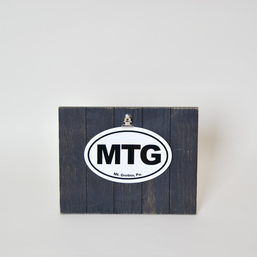 Decal representing MTG